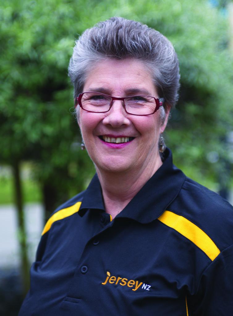Alison Gibb - Presidant of Jersey New Zealand